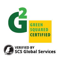 Metropolitan Ceramics products are Green Squared certified