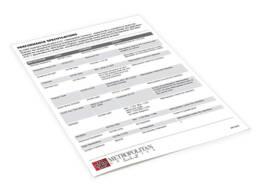 Metropolitan Ceramics® Test Results