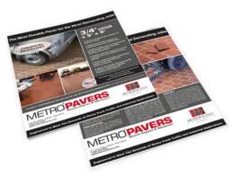 Metropolitan Ceramics® Metro® Pavers Sales Sheet