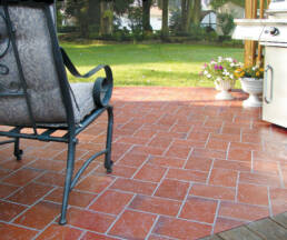 Down to Earth® 350 Red Paver | 6 x 9 Stone Texture