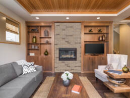 Thin Brick Fireplace Lexington Blend | V4