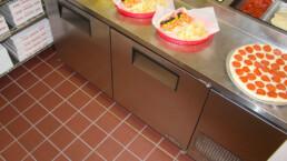 31xa mayflower red xa-abrasive slip resisting restaurant kitchen flooring